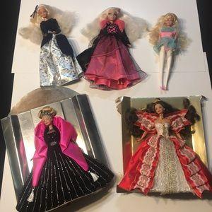 Beautiful ball gown Barbies bundle 2 NWT